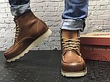 Чоловічі черевики Red Wing USA Classic Moc 6-inch Boot 8424890 Brown 875, фото 6