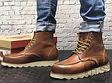 Чоловічі черевики Red Wing USA Classic Moc 6-inch Boot 8424890 Brown 875, фото 7
