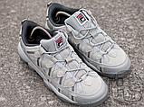 Чоловічі кросівки Fila Spaghetti Grey 1BM00057, фото 7
