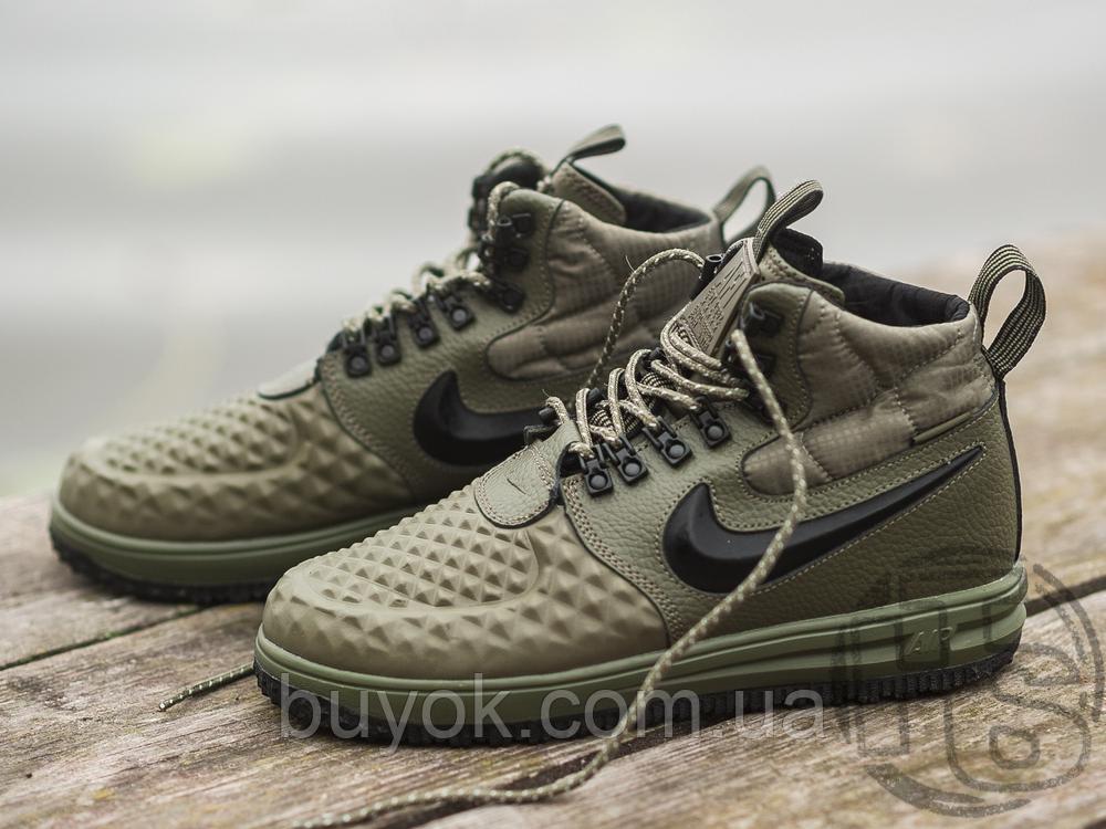 Мужские кроссовки Nike Lunar Force 1 Duckboot '17 Medium Olive/Black/Wolf Grey 916682-202