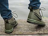 Мужские кроссовки Nike Lunar Force 1 Duckboot '17 Medium Olive/Black/Wolf Grey 916682-202, фото 4