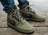 Мужские кроссовки Nike Lunar Force 1 Duckboot '17 Medium Olive/Black/Wolf Grey 916682-202, фото 5