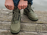 Мужские кроссовки Nike Lunar Force 1 Duckboot '17 Medium Olive/Black/Wolf Grey 916682-202, фото 6