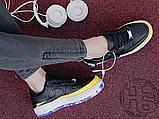 Жіночі кросівки Nike Air Force 1 Jester XX Black Sonic/Yellow Arctic Orange AT2497-001, фото 5