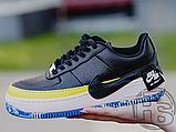 Жіночі кросівки Nike Air Force 1 Jester XX Black Sonic/Yellow Arctic Orange AT2497-001, фото 6