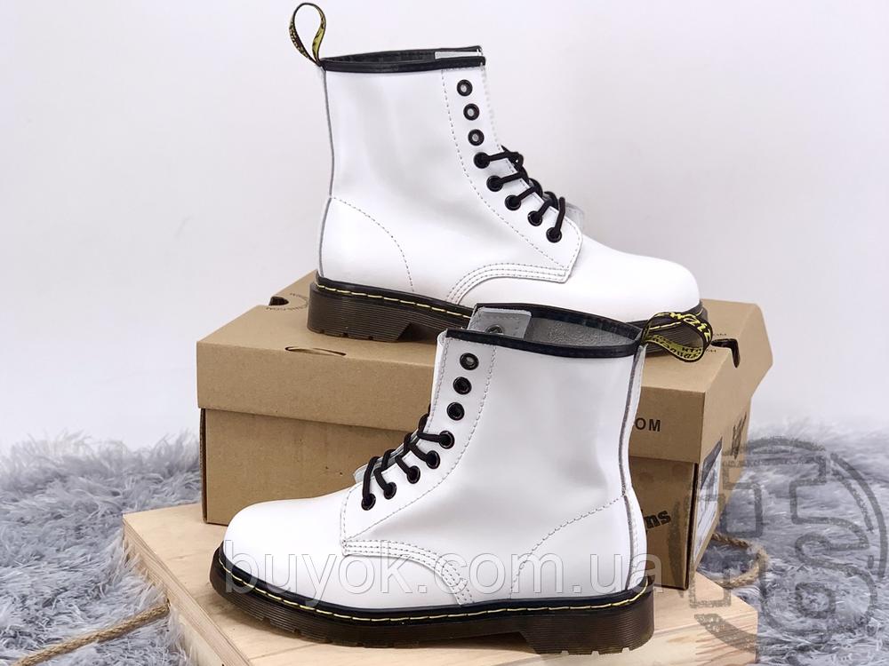 Жіночі черевики Dr.Martens 1460 Smooth White 14357100