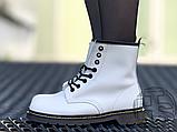 Жіночі черевики Dr.Martens 1460 Smooth White 14357100, фото 2