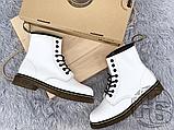 Жіночі черевики Dr.Martens 1460 Smooth White 14357100, фото 3