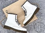 Жіночі черевики Dr.Martens 1460 Smooth White 14357100, фото 4