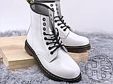 Жіночі черевики Dr.Martens 1460 Smooth White 14357100, фото 5