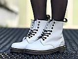 Жіночі черевики Dr.Martens 1460 Smooth White 14357100, фото 8
