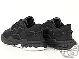 Кросівки Adidas жіночі Ozweego Core Black White EG8355, фото 3