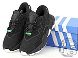Кросівки Adidas жіночі Ozweego Core Black White EG8355, фото 6