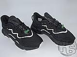 Кросівки Adidas жіночі Ozweego Core Black White EG8355, фото 7