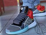 Чоловічі кросівки Adidas Marquee Mid Boost Marvel Thor White Grey Red EF2258, фото 2