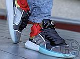 Чоловічі кросівки Adidas Marquee Mid Boost Marvel Thor White Grey Red EF2258, фото 3