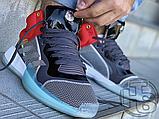 Чоловічі кросівки Adidas Marquee Mid Boost Marvel Thor White Grey Red EF2258, фото 4