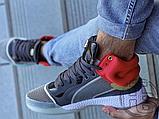 Чоловічі кросівки Adidas Marquee Mid Boost Marvel Thor White Grey Red EF2258, фото 5