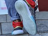 Чоловічі кросівки Adidas Marquee Mid Boost Marvel Thor White Grey Red EF2258, фото 6