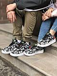 Мужские кроссовки Nike Air Force World Black White ALL02376, фото 7