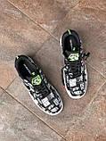 Мужские кроссовки Nike Air Force World Black White ALL02376, фото 8