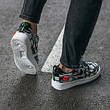 Мужские кроссовки Nike Air Force World Black White ALL02376, фото 9