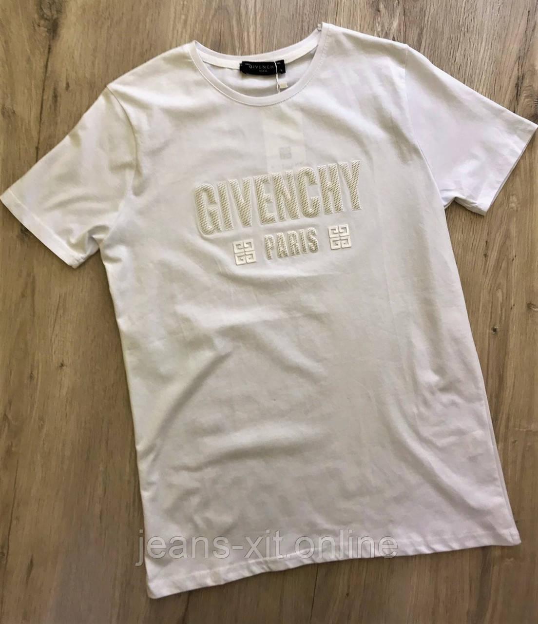 Футболка Чол. L(р) білий 1720-20 Givenchy Туреччина Літо-C