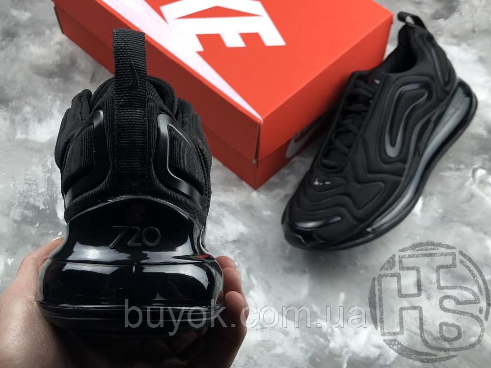 Чоловічі кросівки Nike Air Max 720 Triple Black AO2924-004