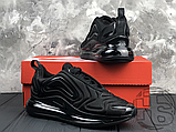 Чоловічі кросівки Nike Air Max 720 Triple Black AO2924-004, фото 8