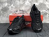 Чоловічі кросівки Nike Air Max 720 Triple Black AO2924-004, фото 9