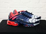 Чоловічі кросівки Nike Air Max Plus Hyperfuse Midnight Navy University Red 483553-416, фото 3