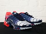 Чоловічі кросівки Nike Air Max Plus Hyperfuse Midnight Navy University Red 483553-416, фото 4