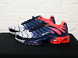 Чоловічі кросівки Nike Air Max Plus Hyperfuse Midnight Navy University Red 483553-416, фото 6