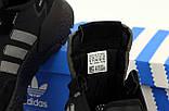 Чоловічі кросівки Adidas Nite Jogger Core Black Carbon Black Boost BD7954, фото 6