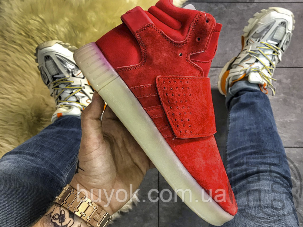 Чоловічі кросівки Adidas Tubular Invader Strap Red BB5039