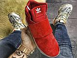 Чоловічі кросівки Adidas Tubular Invader Strap Red BB5039, фото 2