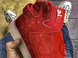 Чоловічі кросівки Adidas Tubular Invader Strap Red BB5039, фото 5