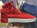 Чоловічі кросівки Adidas Tubular Invader Red Vintage White S81963, фото 2