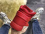 Чоловічі кросівки Adidas Tubular Invader Red Vintage White S81963, фото 4