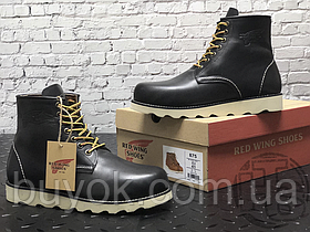 Чоловічі черевики Red Wing USA Rover 6-inch boot 8424890 Black 2951
