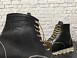 Мужские ботинки Red Wing USA Rover 6-inch boot 8424890 Black 2951, фото 2