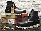 Мужские ботинки Red Wing USA Rover 6-inch boot 8424890 Black 2951, фото 3