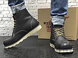 Мужские ботинки Red Wing USA Rover 6-inch boot 8424890 Black 2951, фото 8