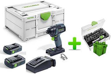 Акумуляторний імпульсний дриль-шуруповерт Festool TID 18 C 3,1-Plus
