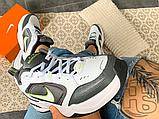 Чоловічі кросівки Nike Air Monarch IV White/Cool Grey/Anthracite/White 415445-100, фото 7