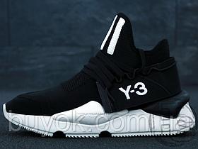 Мужские кроссовки Adidas Y-3 Kaiwa Knit Black/White F97424