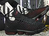 Мужские кроссовки Nike LeBron 16 Fresh Bred Black University Red AQ2465-002, фото 4