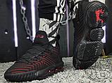 Мужские кроссовки Nike LeBron 16 Fresh Bred Black University Red AQ2465-002, фото 5