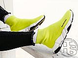 Жіночі кросівки Balenciaga Speed Trainer Yellow BB, фото 2