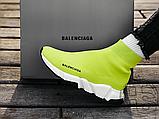 Жіночі кросівки Balenciaga Speed Trainer Yellow BB, фото 4